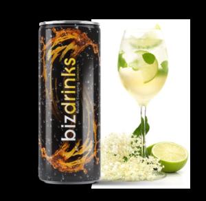 Cocktail Werbeartikel eigenes Etikett bei bizdrinks