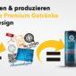 Werbegetränke bedrucken bei bizdrinks.de der Nummer1 in Deutschland
