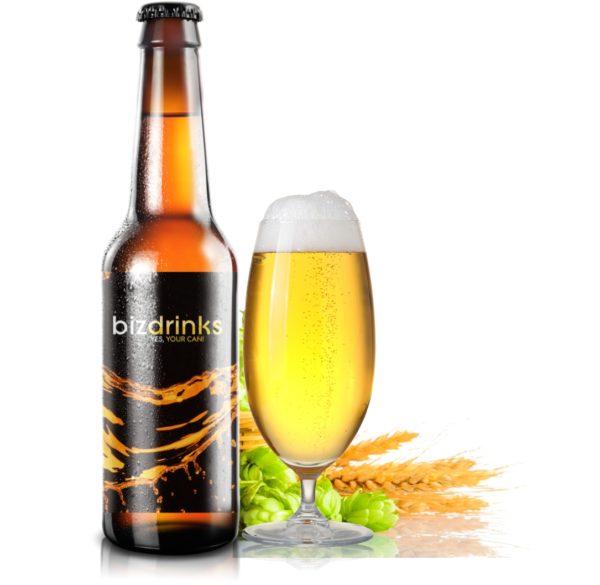 Bier mit eigenem Etikett