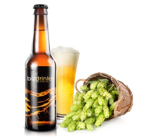 Bier mit eigenem Logo
